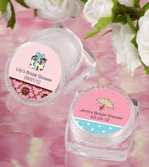personalized favors lip balm personalized bridal shower favors