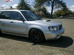 subaru forester lowered 2004 subaru forester xt my04 boostcruising