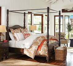 Canopy Bedding Cortona Canopy Bed Pottery Barn