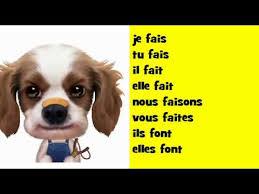 sofa franzã sisch französisch musik konjugation soul verb faire