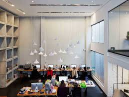 office space design high ceilings