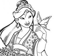 ancient chinese princess coloring coloring