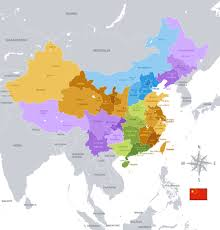 China Map Cities by Map China