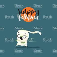 holiday happy halloween funny doodle characters stock vector art