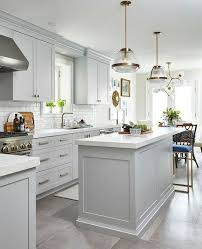 kitchens with light gray kitchen cabinets kitchen with gray cabinets why to choose this trend decoholic