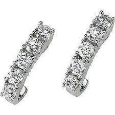 moissanite earrings moissanite earrings ebay