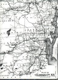 Clinton Ny Index To Beer U0027s 1869 Clinton Co N Y Atlas