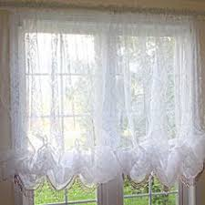 White Balloon Curtains White Chic Crystal Fringe Bead Balloon Baroque Balloon Flocked