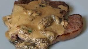 cuisiner les morilles côte de veau et crème de morilles recette par mes recettes gourmandes
