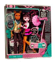 draculaura and clawd buy high draculaura and clawd wolf doll giftset online at