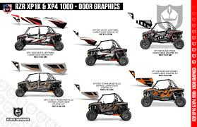 xp1k xp1k4 door graphic kits pro armor lower door graphic kit flyer