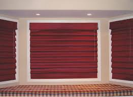 Red Roman Shades Roman Shades Excel Window Coverings Inc