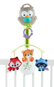 fisher price woodland friends 3 in 1 musical mobile target