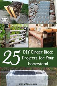 Diy Patio Furniture Cinder Blocks 15 Awesome Outdoor Diy Projects Using Concrete Blocks Living