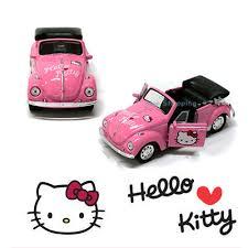 volkswagen mini hello kitty classic mini car volkswagen style toy for kids children