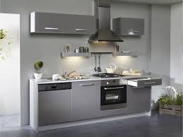 cuisine blanc et grise inspirations à la maison magnifique cuisine blanc gris design grise