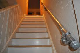 carri us home diy industrial handrail