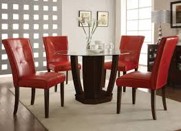 S Kitchen Table And Chairs S Chrome Retro Red Red - Red kitchen table and chairs