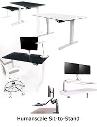Humanscale Sit Stand Desk by Humanscale Office Furniture Ergonomic Office Design