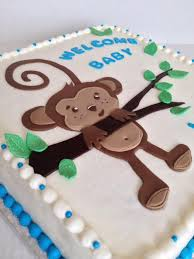 monkey baby shower cake monkey baby shower cake cake by taralynn cakesdecor
