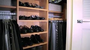 organzing organizing a reach in closet video hgtv