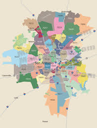 Chicago By Zip Code Map by San Antonio Zip Code Map Zip Code Map