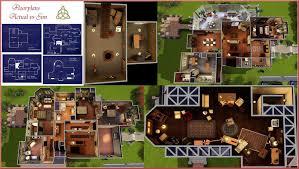 Cullen House Floor Plan by 7th Heaven House Floor Plan House Design Plans