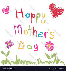 mothers day card mothers day card royalty free vector image vectorstock