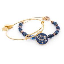 bangles charm bracelet images Alex and ani peace 2016 holiday set of 2 bangle charm bracelets jpg