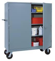 Metal Storage Cabinet Husky Cabinets Lake Stevens Metal Storage Cabinet With Doors