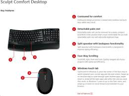Ms Sculpt Comfort Desktop Microsoft Sculpt Comfort Desktop Wireless Cz U0026sk Focus Computer