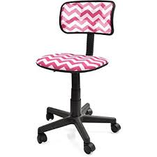 amazon com your zone swivel mesh chair pink chevron home
