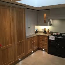 aga kitchen design contemporary shaker kitchen by expert kitchen designers in sheffield