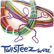 art project for kids wire sculptures with twisteez wire giveaway