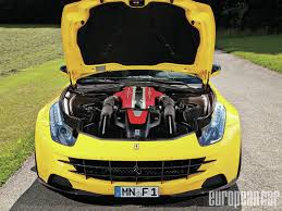 ferrari yellow paint code 2012 ferrari ff european car magazine