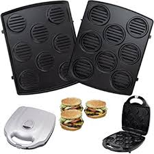 Syntrox Germany XXL detachable plates removable plates Burger grill