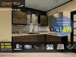Custom Kitchen Cabinets Prices Acrylic Kitchen Cabinet Price Malaysia Kitchen