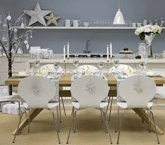 decorating dining room for white silver palette