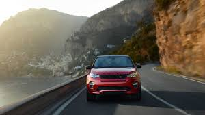 land rover discovery sport red 2016 land rover discovery sport dynamic red hdwallpaperfx