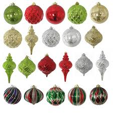 shop living green gold silver ornament at lowes