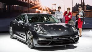 porsche sedan 2016 porsche 2018 panamera 4 e hybrid car paris motor show photos
