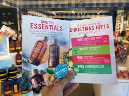 bath body works black friday 2017 free christmas preview coupon booklet w any purchase at bath