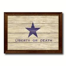 Independence Flag Liberty Or Death Flag Goliad Texas Battle Independence Military
