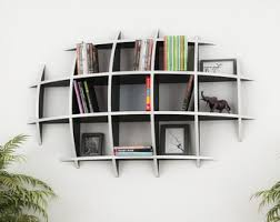 3d Bookshelf Hanging Bookshelf Etsy