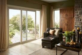 Exterior Door Repair Doors Marvellous Sliding Exterior Doors 3 Panel Sliding Patio