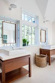 bathroom contemporary bathroom decor ideas with wricker contemporary bathroom ideas with simple rustic mirror using wicker