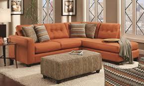 Orange Sofa Bed by Orange Sectional Sofa Centerfieldbar Com