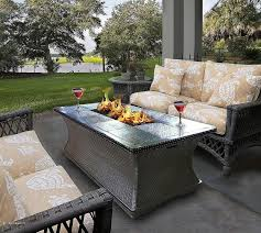 global outdoors fire table global outdoors gas fire table outdoor pit seating ideas set