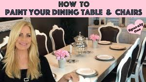 how to paint your dining table u0026 chairs with behr alkyd paint