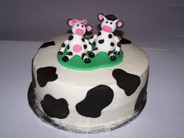 creative cow cake decorations decorate ideas simple on cow cake
